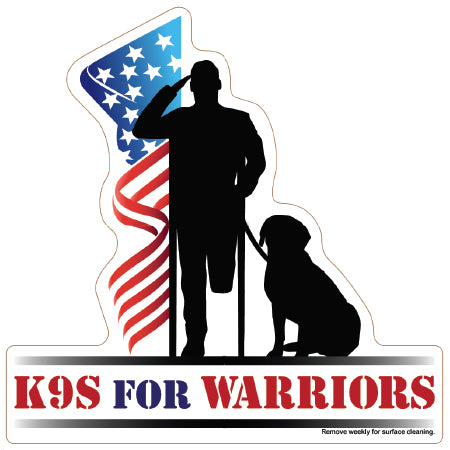 K9 for Warriors Magnet