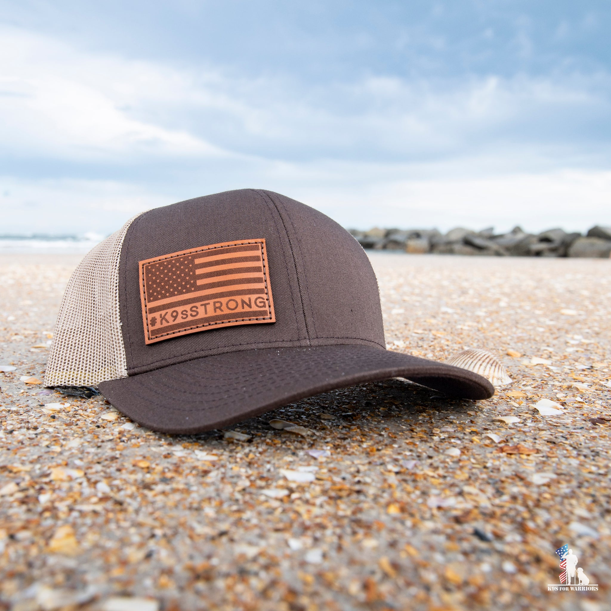 Leather Patch Trucker Snapback