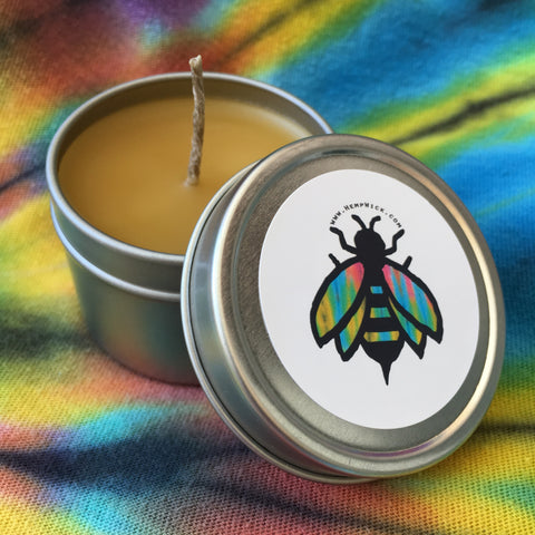 Beeswax Candle Tin