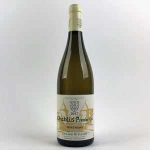2017 Caves Duplessis Chablis 1er Cru Montmains