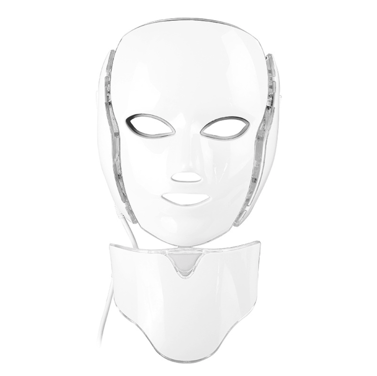7 Color Professional Facial LED Mask with Neck - Clinically Proven Photon Treatment,  Light Therapy Mask For Acne, Wrinkles, and Dull Skin