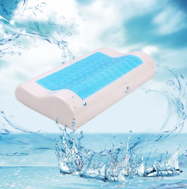 Ice Cool Gel Memory Foam Pillow for Side and Back Sleepers