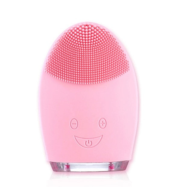 Supersonic Facial Cleansing Brush made with Ultra Hygienic Soft Silicone