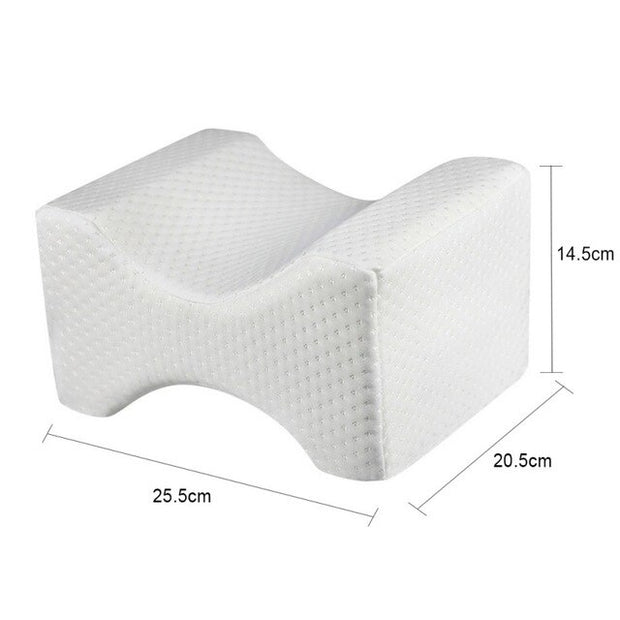 The Side Sleeper™️ - Orthopedic Knee Pillow | Memory Foam Cushion for Hip, Sciatica & Lower Back Pain Relief | Provides Support & Comfort