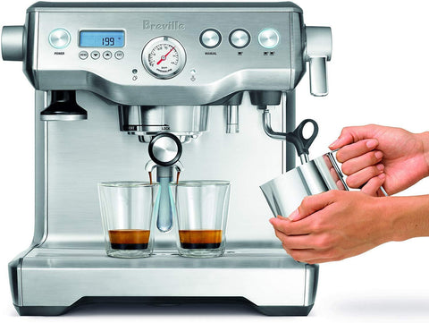 Dual Boiler Espresso Machine Stainless Steel