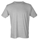 Tultex Short Sleeve Crew Neck- Heather Gray