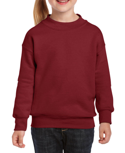 Gildan Youth Sweatshirt - Garnet