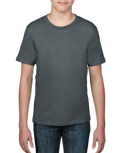 Anvil Youth Tee - Charcoal