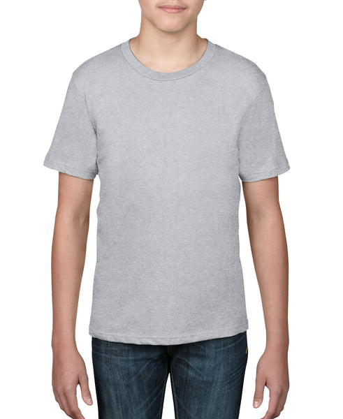 Anvil Youth Tee - Heather Grey