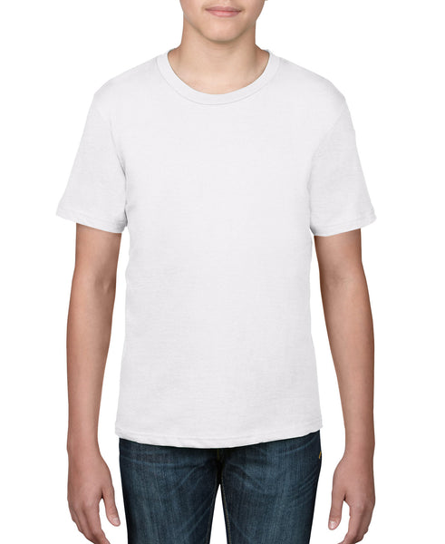Anvil Youth Tee - White