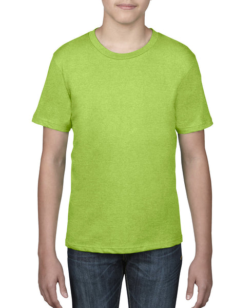 Anvil Youth Tee - Neon Green