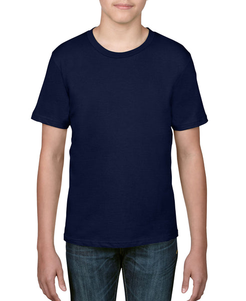 Anvil Youth Tee - Navy