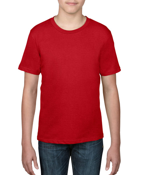 Anvil Youth Tee - Red