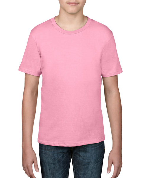 Anvil Youth Tee - Charity Pink