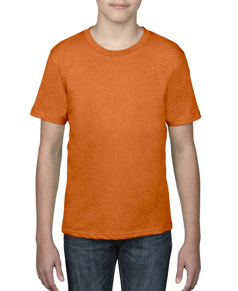 Anvil Youth Tee - Neon Orange