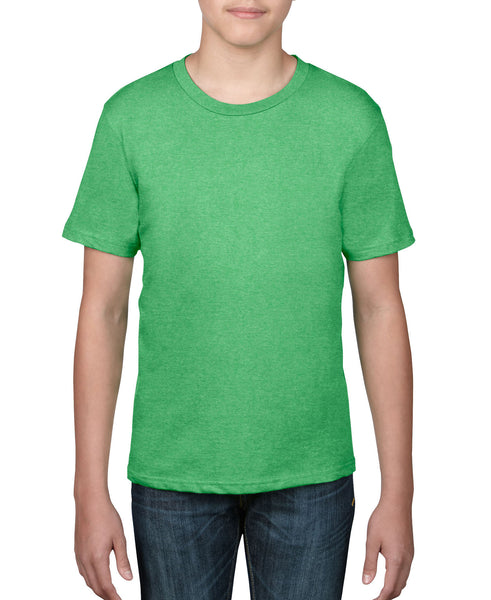 Anvil Youth Tee - Heather Green