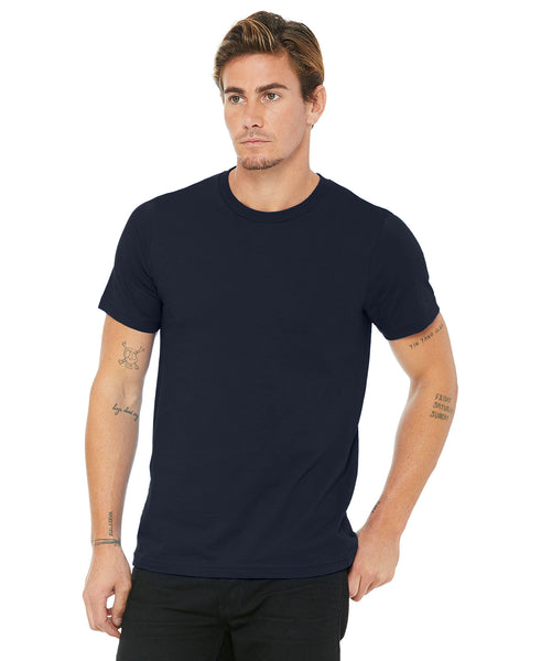 Bella + Canvas Unisex Crew Tee - Navy