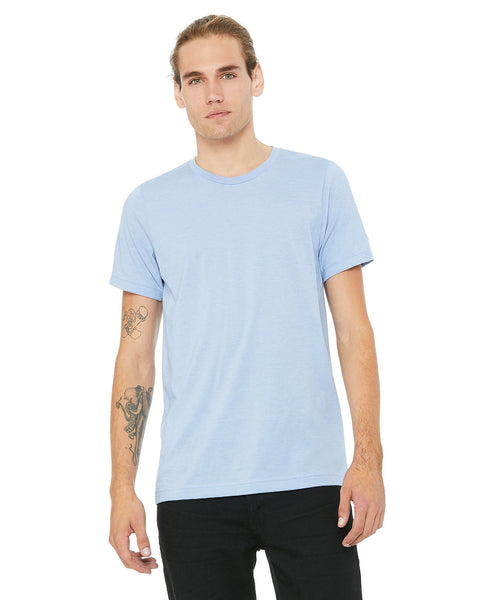 Bella + Canvas Unisex Crew Tee - Baby Blue