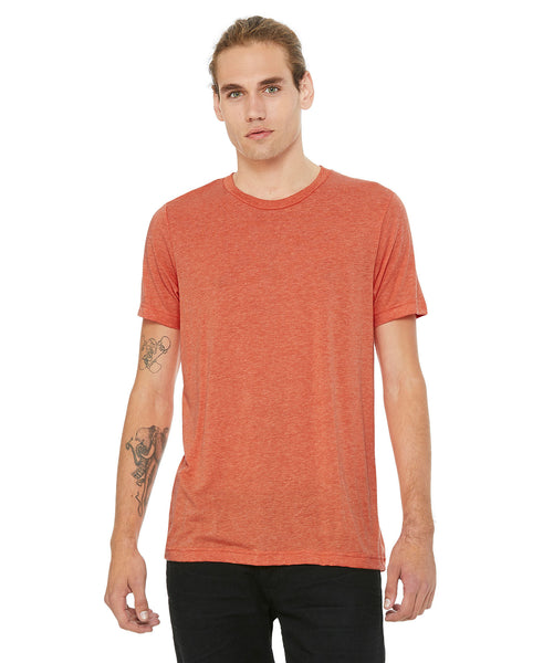 Bella + Canvas Unisex Crew Tee - Heather Orange