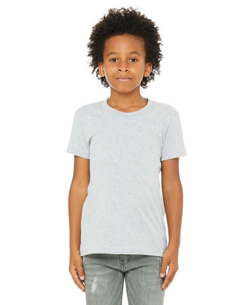 Bella + Canvas Youth Tee - Athletic Heather
