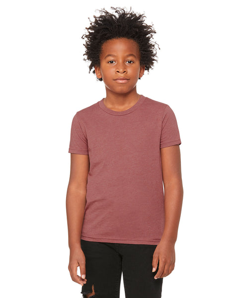 Bella + Canvas Youth Tee - Heather Mauve