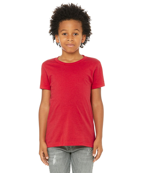 Bella + Canvas Youth Tee - Red