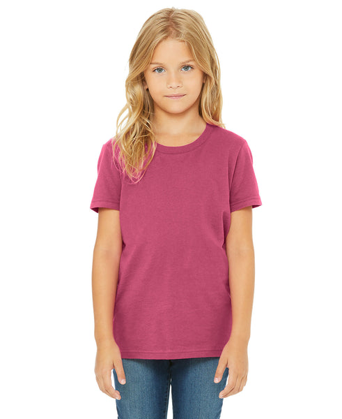 Bella + Canvas Youth Tee - Berry