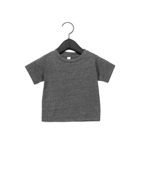 Bella + Canvas Baby Jersey Short Sleeve Tee - Dark Grey Heather