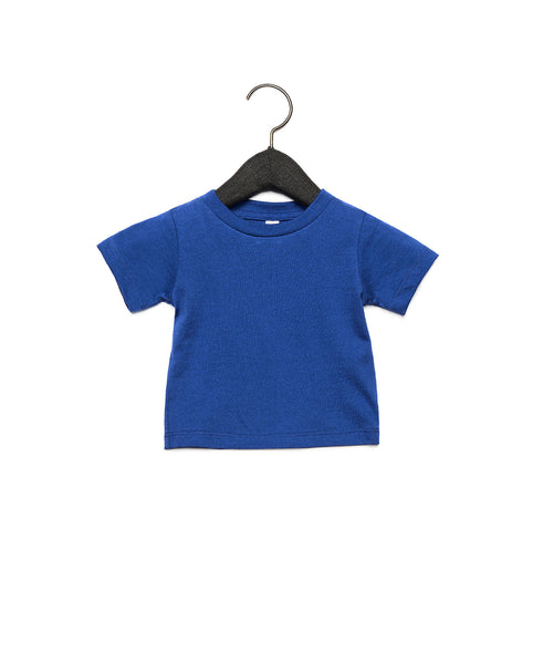 Bella + Canvas Baby Jersey Short Sleeve Tee - True Royal