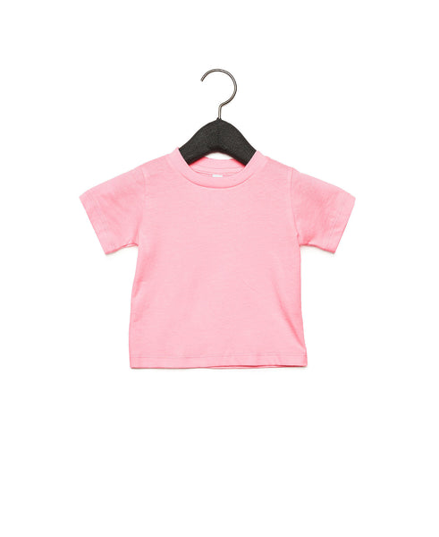 Bella + Canvas Baby Jersey Short Sleeve Tee - Pink