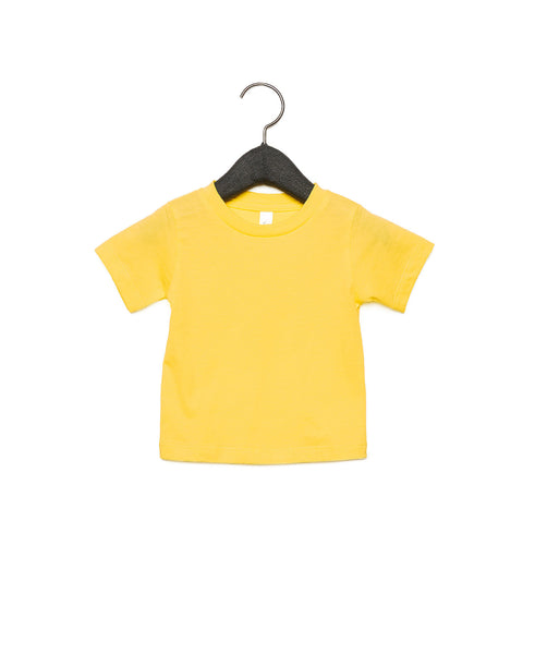 Bella + Canvas Baby Jersey Short Sleeve Tee - Yellow