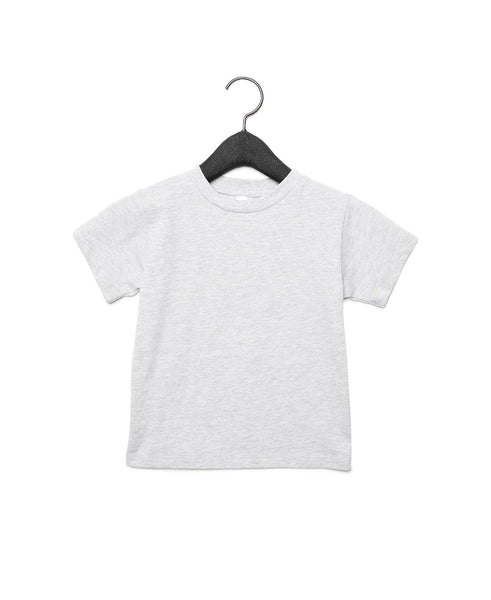 Bella + Canvas Toddler Jersey Short Sleeve Tee - Athletic Heather