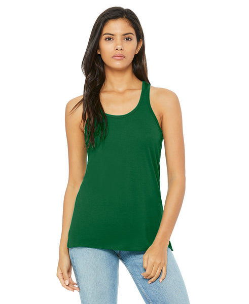 Bella + Canvas Flowy Tank - Kelly Green