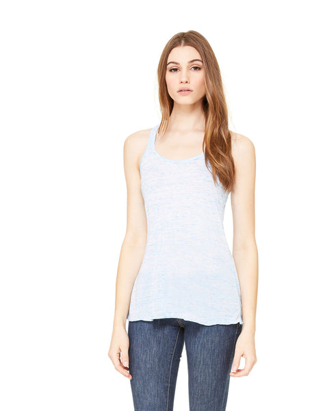 Bella + Canvas Flowy Tank - Blue Marble