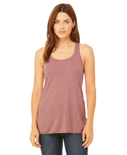 Bella + Canvas Flowy Tank - Mauve