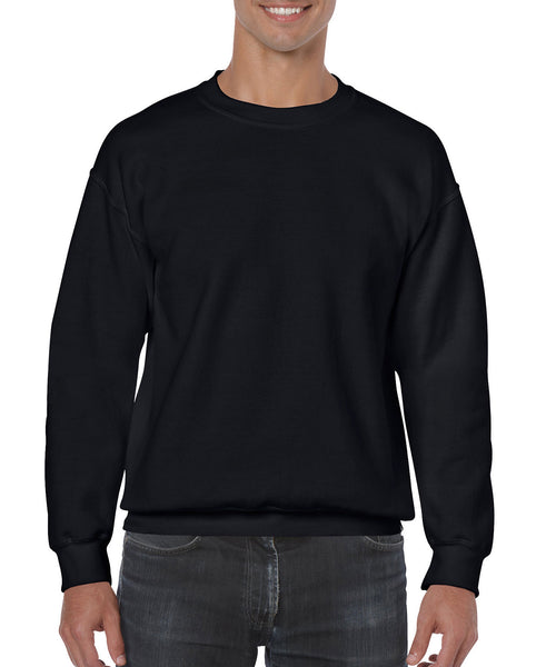 Gildan Crew Neck Sweatshirt - Black