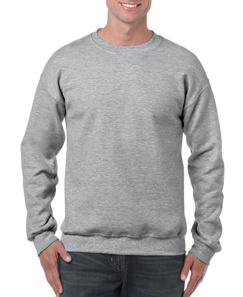 Gildan Crew Neck Sweatshirt - Sport Grey