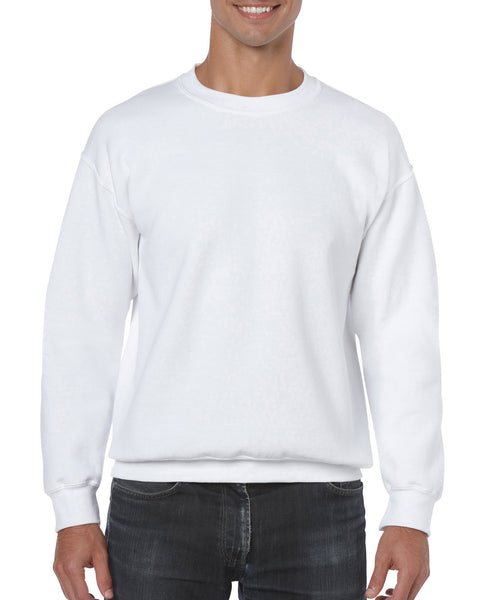 Gildan Crew Neck Sweatshirt - White