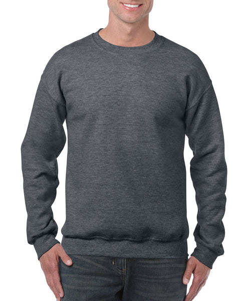 Gildan Crew Neck Sweatshirt - Dark Heather