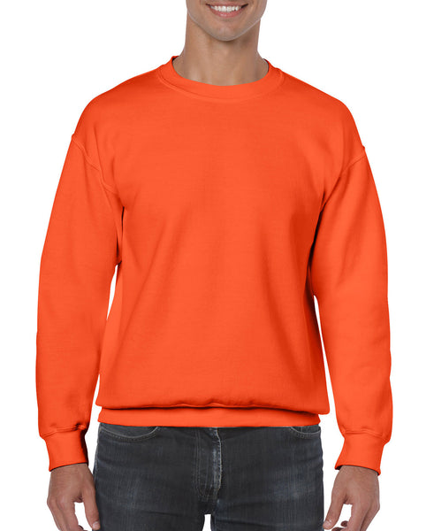 Gildan Crew Neck Sweatshirt - Orange