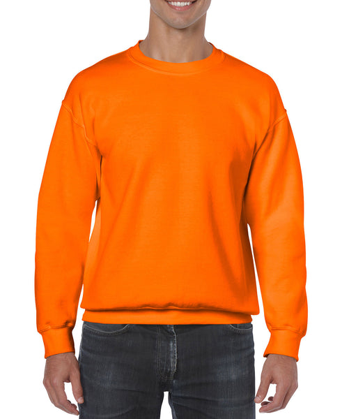 Gildan Crew Neck Sweatshirt - Safety Orange