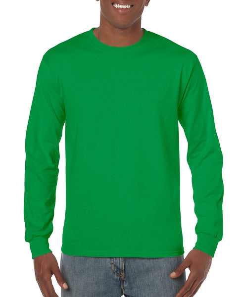 Gildan Adult Long Sleeve - Irish Green