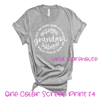 Grandma Screen Print