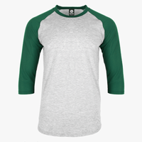 EGPRO Youth Poly Raglan - Hunter Green