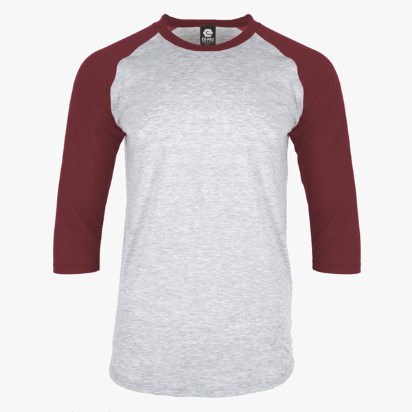 EGPRO Youth Poly Raglan - Maroon