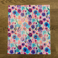 Dyed Roses - Printed HTV