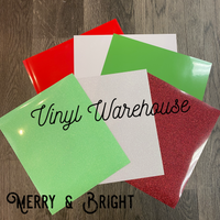 Merry and Bright HTV Bundle Pack