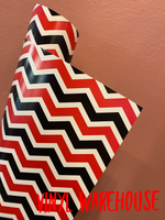 Red/Black Double Chevron