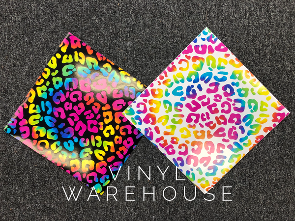 Psychedelic Leopard Adhesive Vinyl