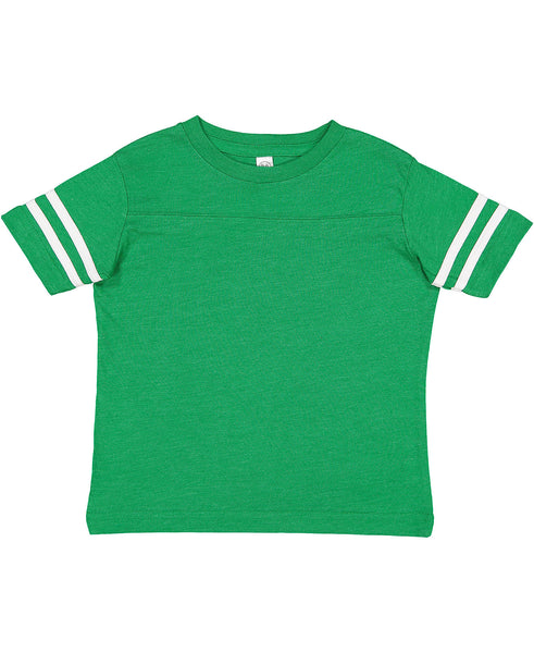 Rabbit Skins Football Tee - Green